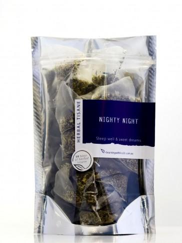 Beaming with Health Nighty Night Herbal Tea - 12 Tea Bag Pouch
