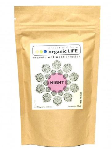 Organic LIFE Night Tea - 20 Tea Bag Pouch