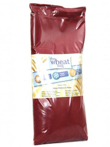 Wheat Bag / Cushion in Maroon