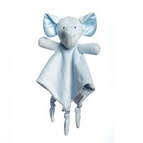 Save Our Sleep Blue Elzzie Elephant Comforter